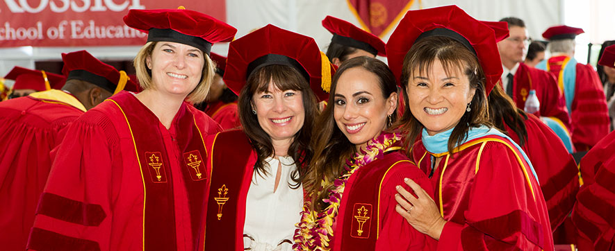 Faculty – USC Rossier Commencement